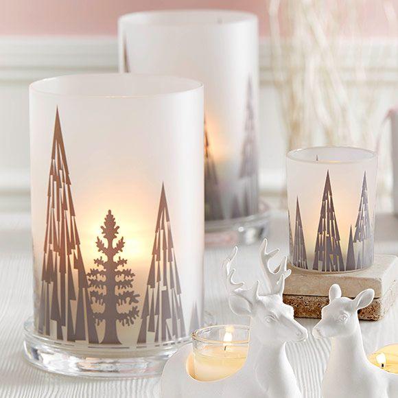 Lampe Tempete Arbres Scintillants Lampe Tempete Bougie Decoration