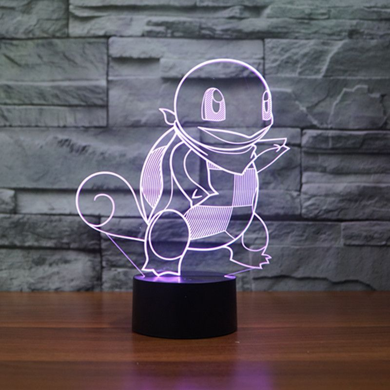 Pokemon Go 3d Led Lamp Lampe Lamper