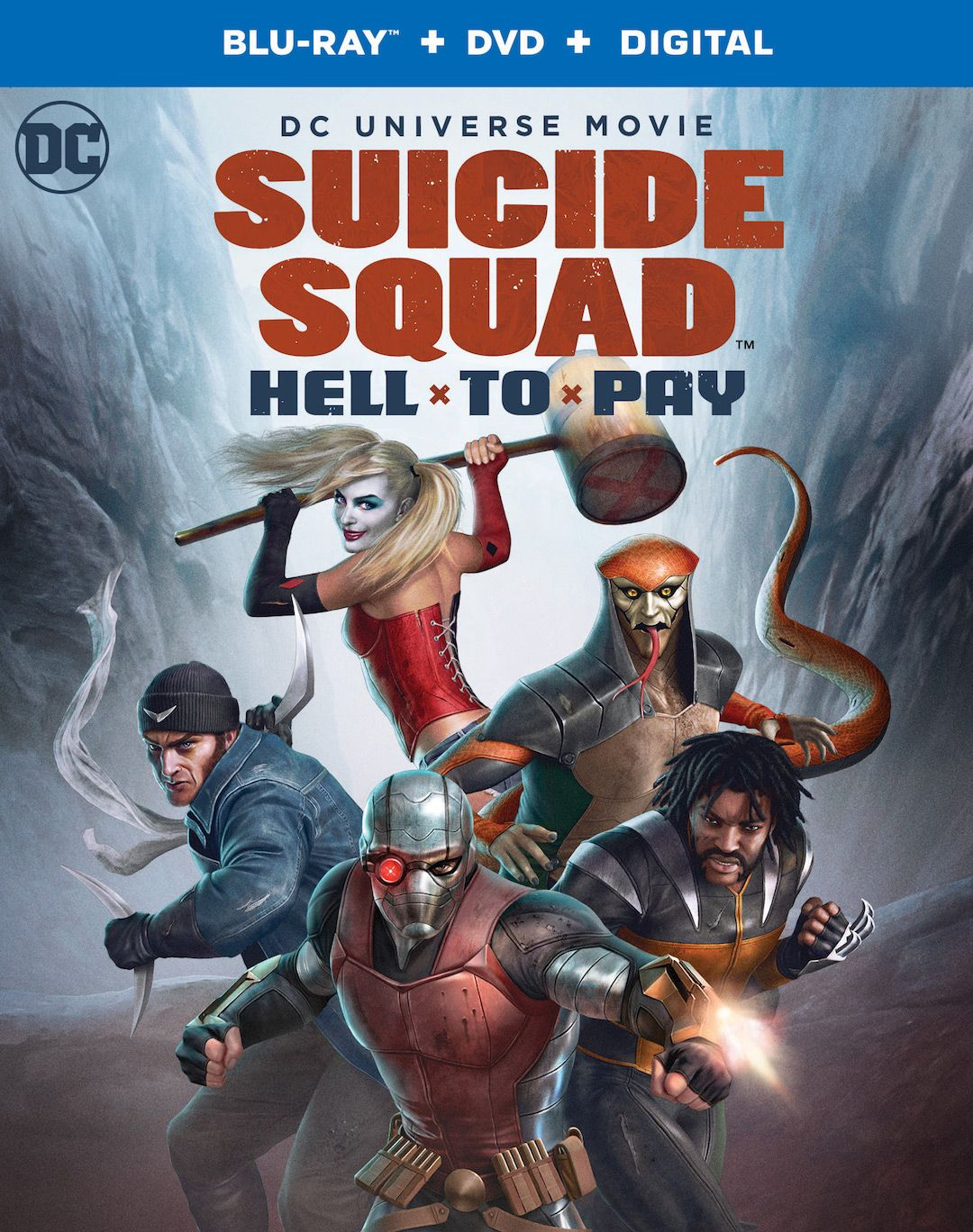 Suicide Squad: Hell to Pay – Watch the trailer for new animated movie |  Live for Films