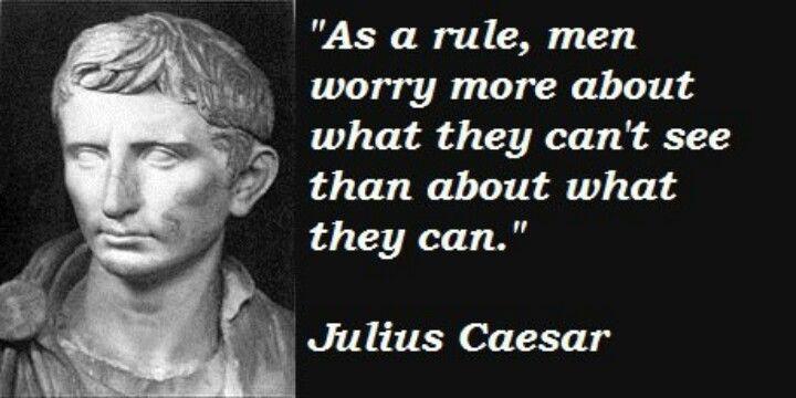 Hmm... Ironic yeah probably not | Caesar quotes, Julius ...