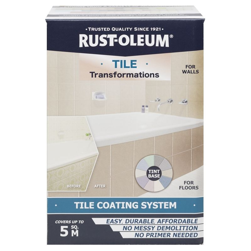 Rust-Oleum Tile Transformations Coating System | Bunnings Warehouse ...