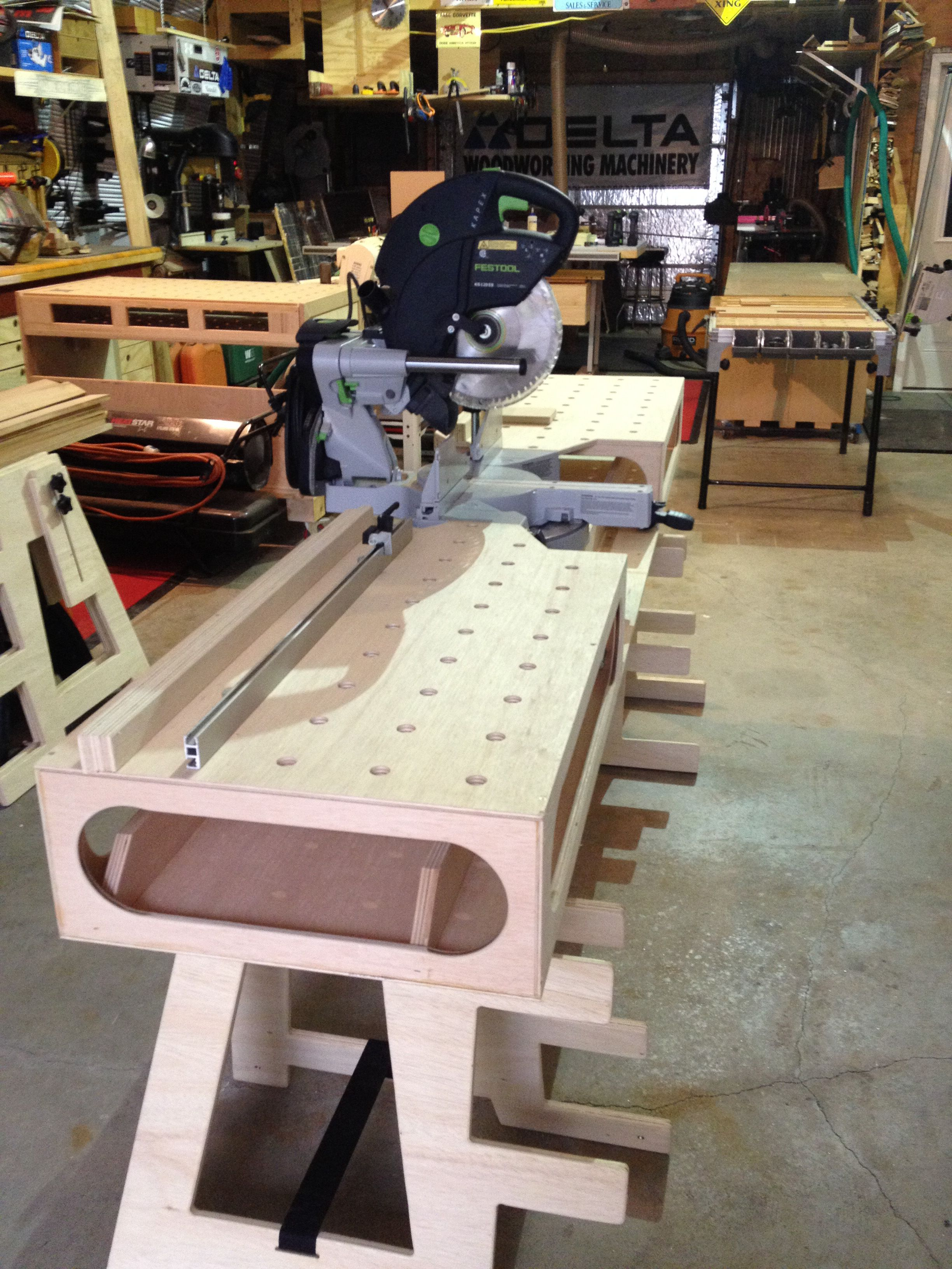 The Paulk Miter Stand workbench Paulk woodworking DIY