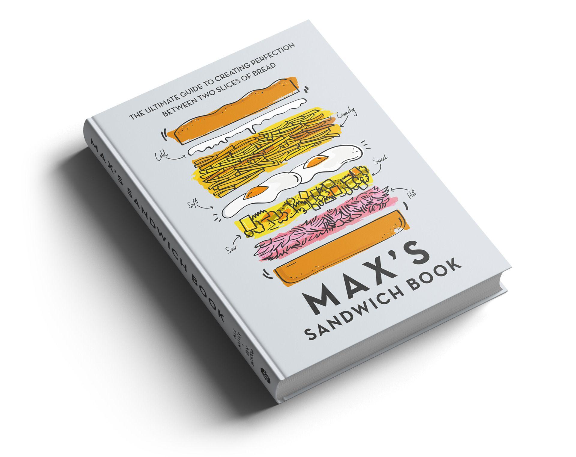Max's Sandwich Shop Slice of bread, Books, Sandwiches