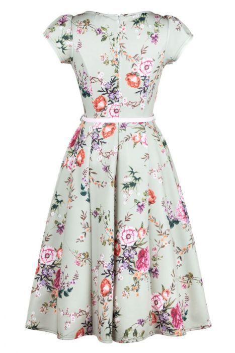 Susie Dress - Clary Sage Garden #sagegreendress
