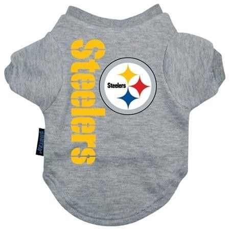 91824a6eb Pittsburgh Steelers Dog Tee Shirt - Extra Large