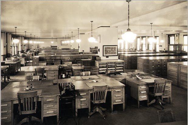 1930s Office Office Interiors Vintage Office Vintage Interiors