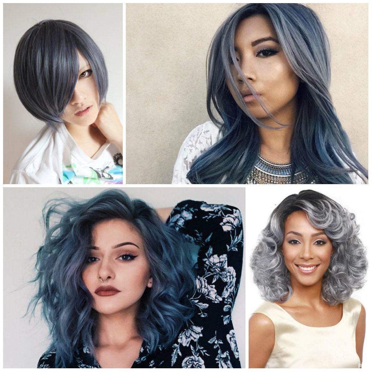 best dark grey hair dye | grey hair color ideas for 2016/2017