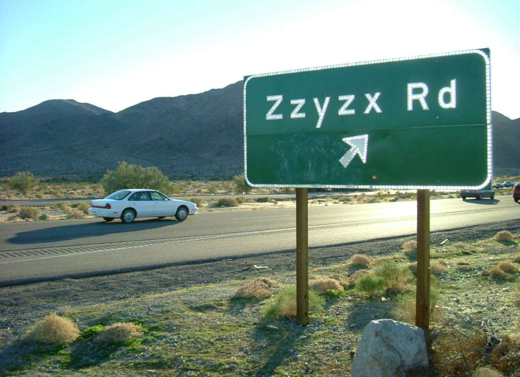 This unincorporated flyspeck in the Mojave Desert was once