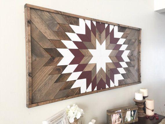 Wood Wall Art Reclaimed Decor