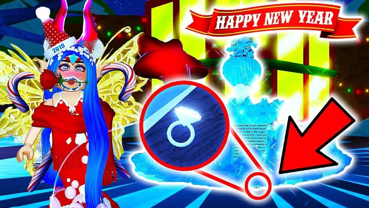I Got A Diamond Ring X1f48d New Years In Royale High X1f48e