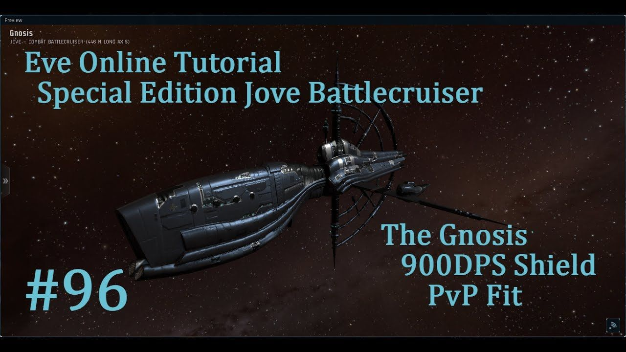 Eve Online Tutorial, Pt 96 900DPS Gnosis PvP | eve online