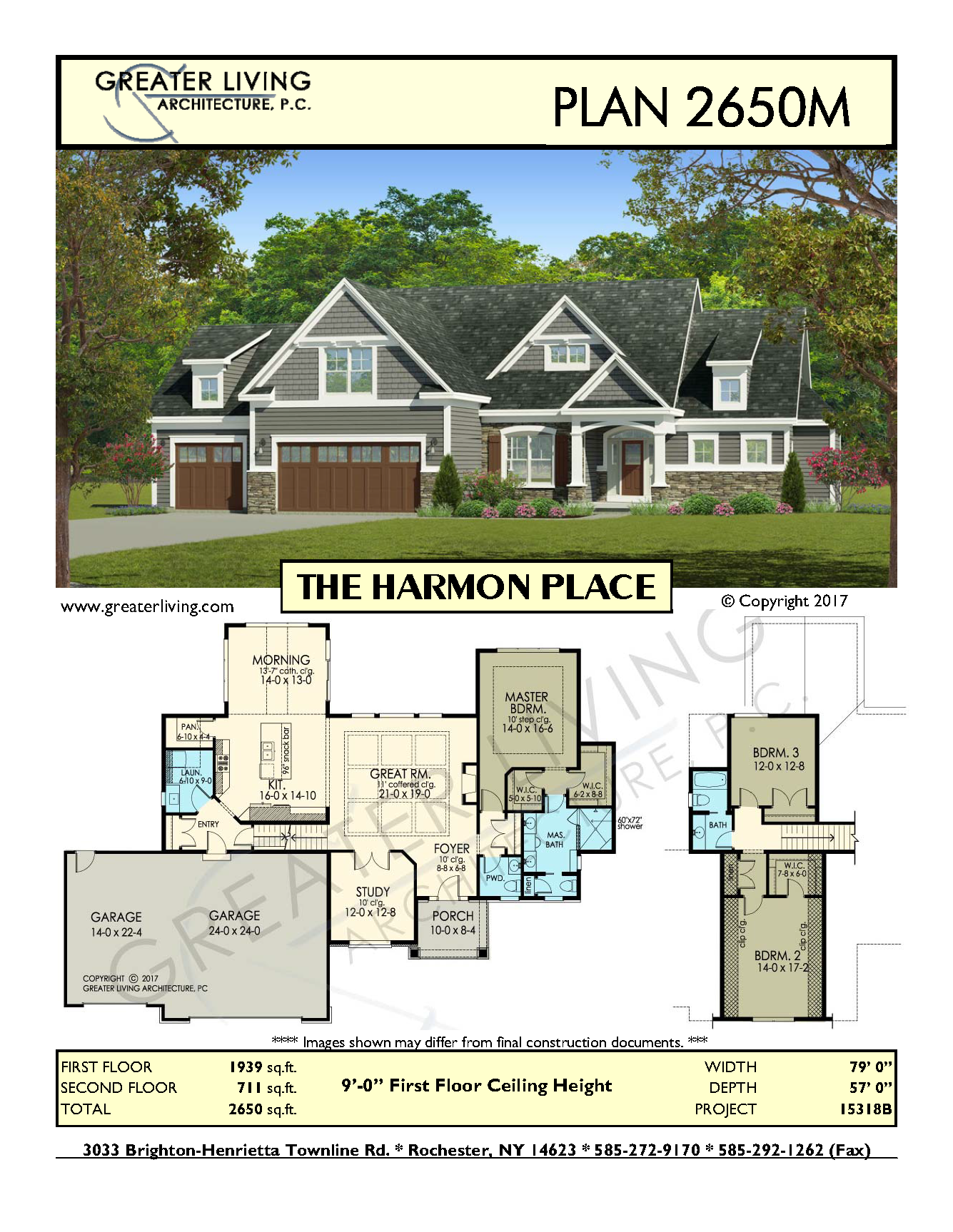 Plan 2650M: THE HARMON PLACE- House Plans - Two Story House Plans ...