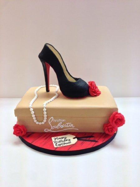 louboutin shoe cake | pasteles | pinterest | escarpins, talons et