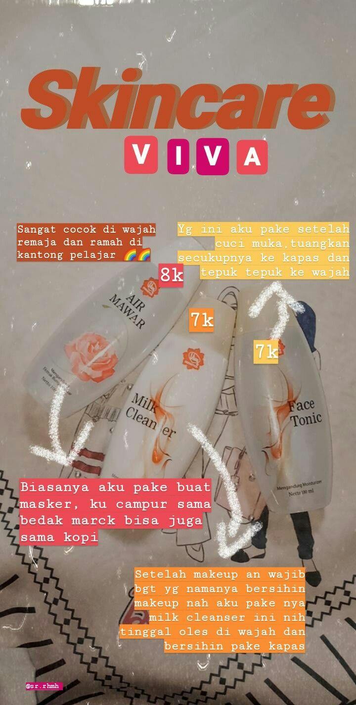 Skincare yg murah meriah bgt, produk dari brand legend