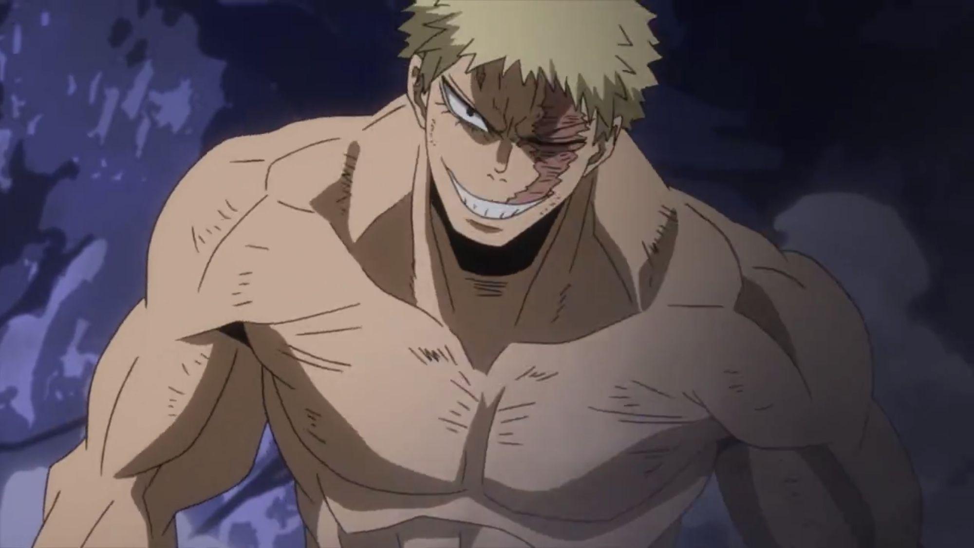 Muscular Boku No Hero Academia Anime Cartoon Drawings Anime Characters