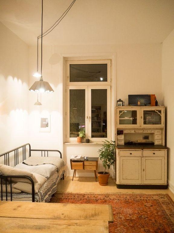 Schönes Retro-WG-Zimmer #WGZimmer #Schlafzimmer #Einrichtung