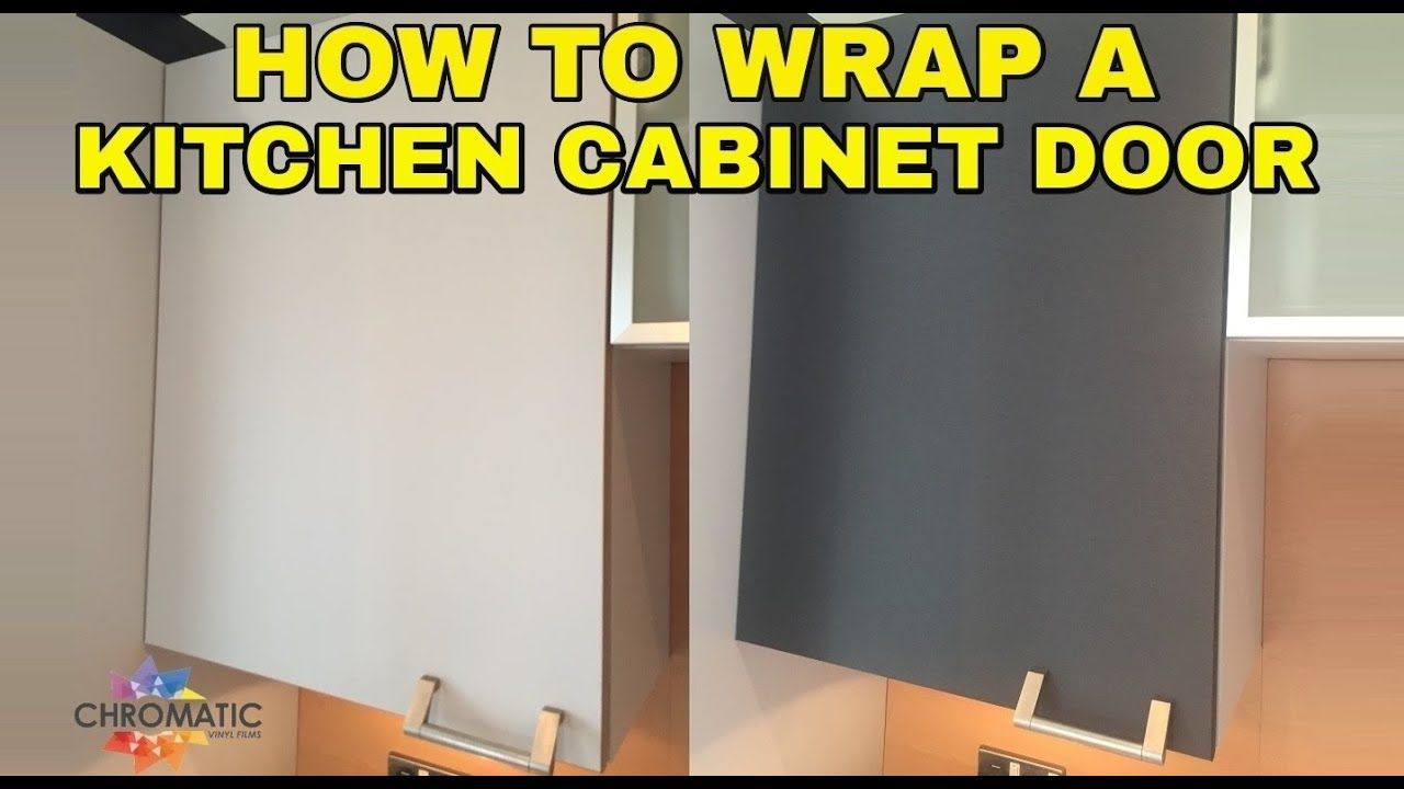 How To Wrap A Kitchen Cabinet Door Diy Vinyl Wrapping Tutorial For Kit Diy Cabinet Doors Diy Vinyl Wrapping Vinyl Wrap Furniture