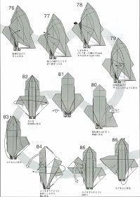 Quizá estos diagramas sean algo complejos, pero la figura resultante merece el esfuerzo de intentar plegarla. Me voy volando a plegar este p...