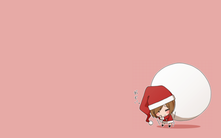 Cute Christmas Hd Image Chibi Wallpaper Cute Anime Chibi Cute Anime Wallpaper
