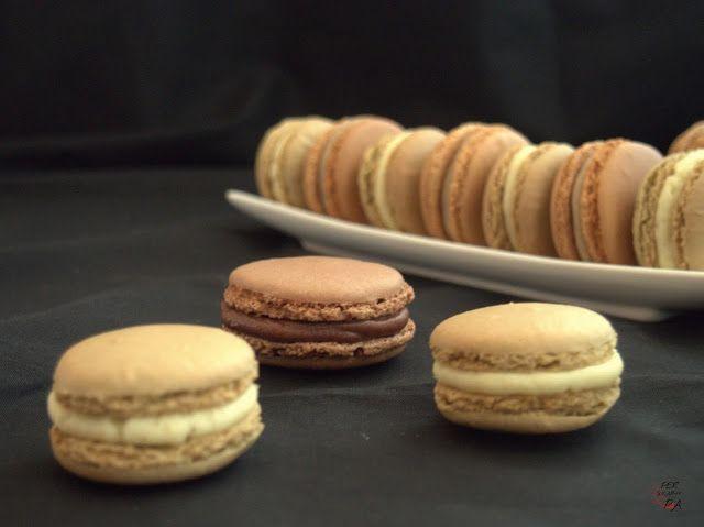 Por fin!!! llegaron las galletitas más veneradas de los últimos tiempos: los macarons. De origen it...