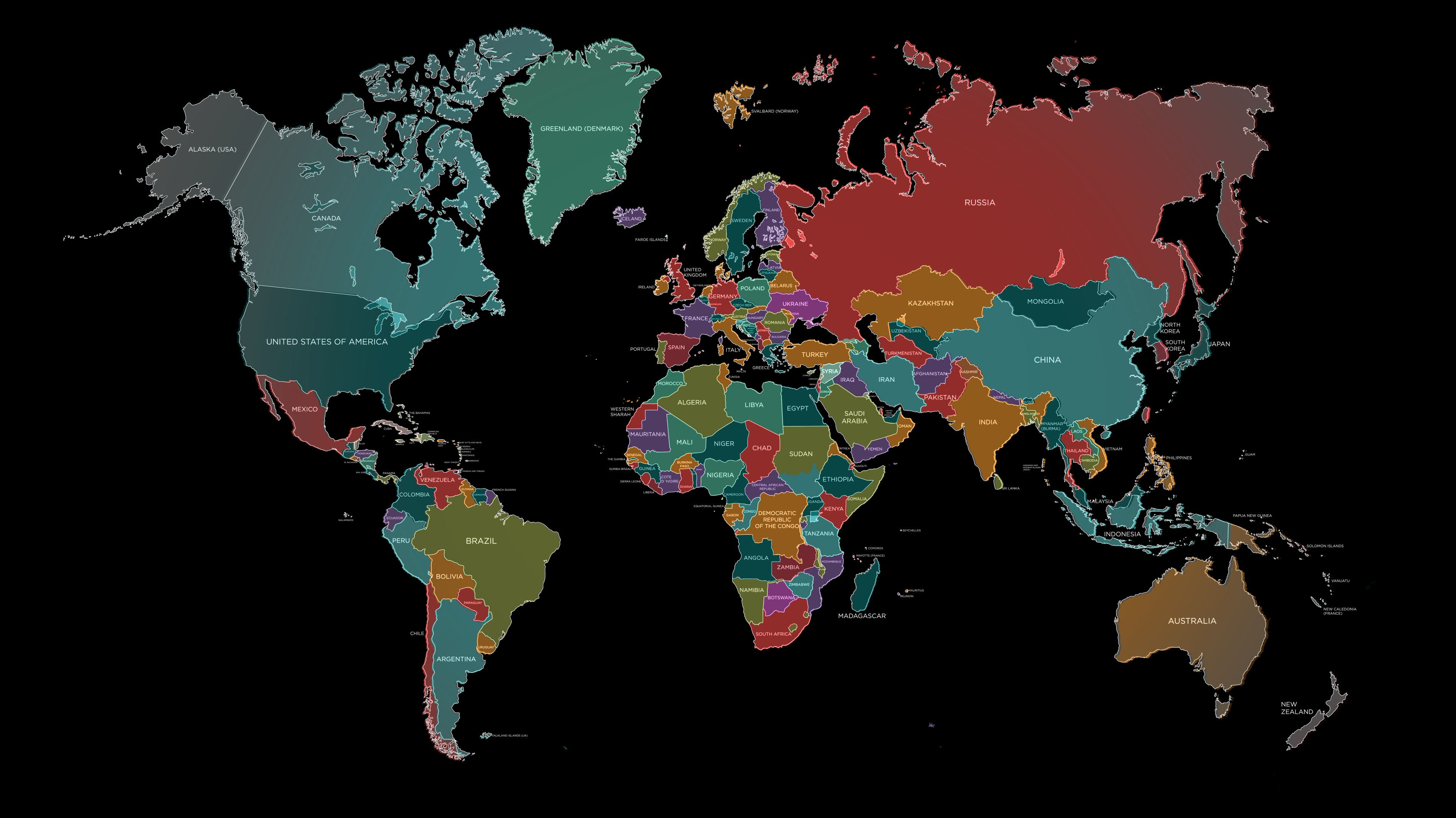 Color World Map Alpha Channel Stock Footage Map World Color Alpha Color World Map Alpha Channel Color