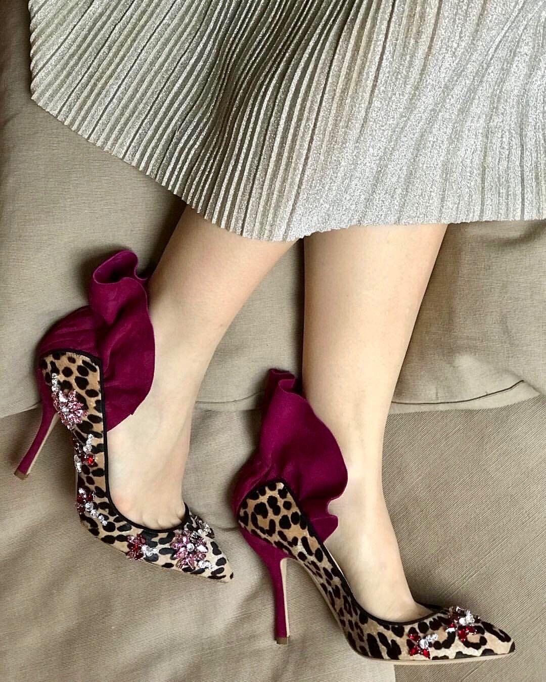 Dahlia Selva Shoes, Boots, Mule shoe