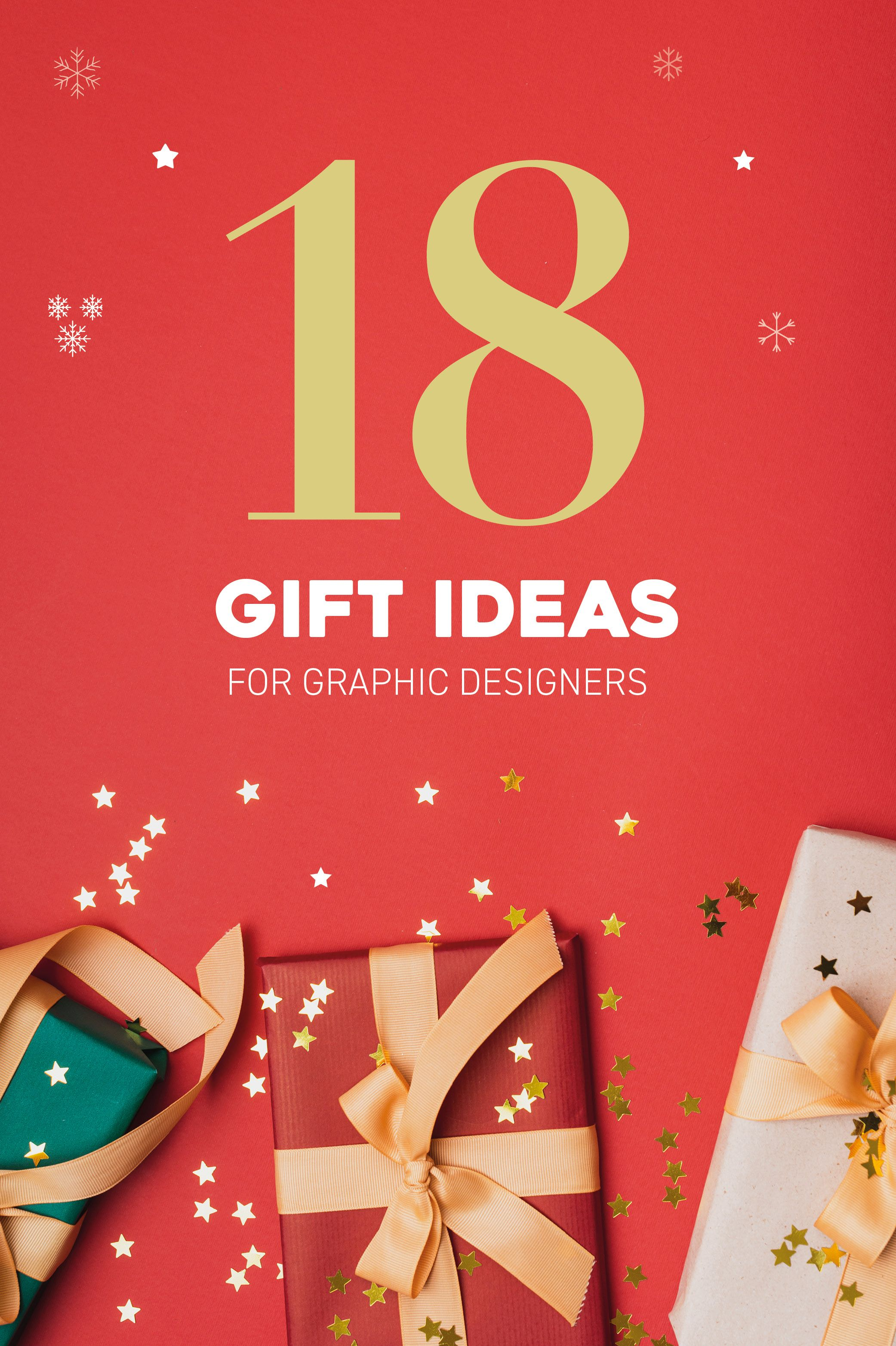 18 Great Gifts For Designers With Images Gifts Graphic Design