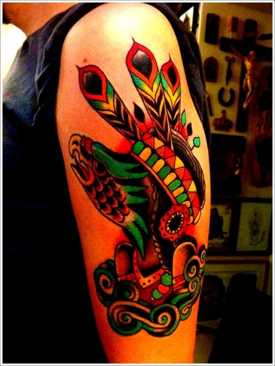 40 traditional native american tattoos to celebrate you