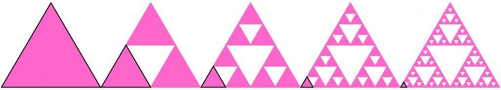 Sierpinskis Triangle teach fractals with printable activity – Sierpinski Triangle Worksheet