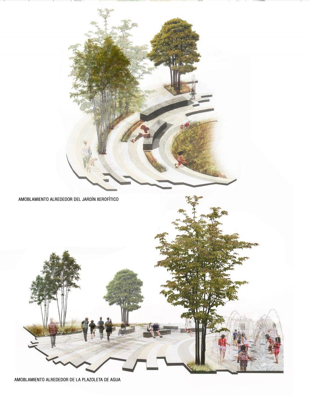 Galeria De Segundo Lugar En Concurso Nacional Uva Orfelinato Medellin Colombia 8 Planos De Paisajes Dibujo De Arquitectura Arquitectura De Paisaje