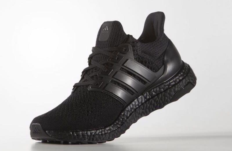 Here Are The Official Images Of The Adidas Ultra Boost Triple Black With Images All Black Adidas Adidas Ultra Boost Ultra Boost Triple Black