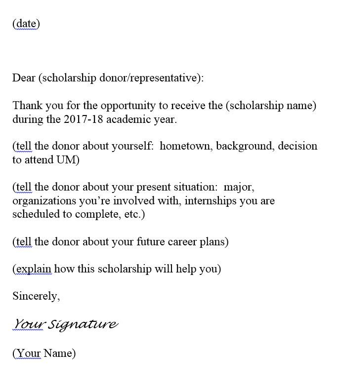 sample thank you letter franke college forestry letters epipzhnog - scholarship thank you letter sample