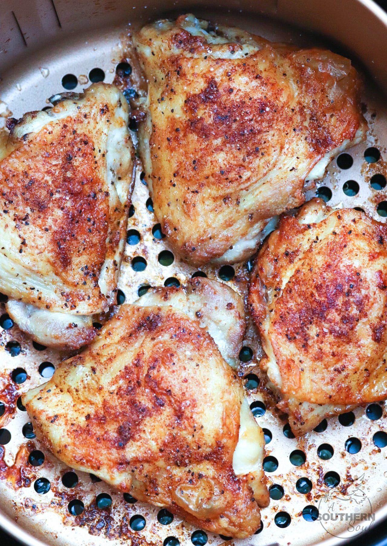 Air Fryer Chicken Thighs A Southern Soul Air fryer