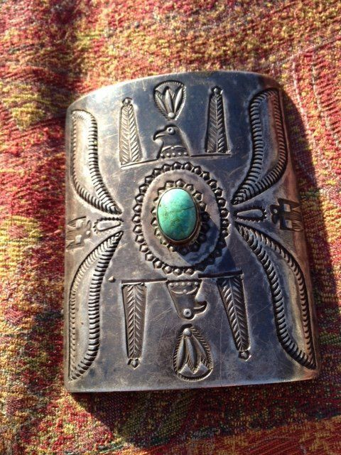 ANTIQUE KETOH WITH TURQUOISE
