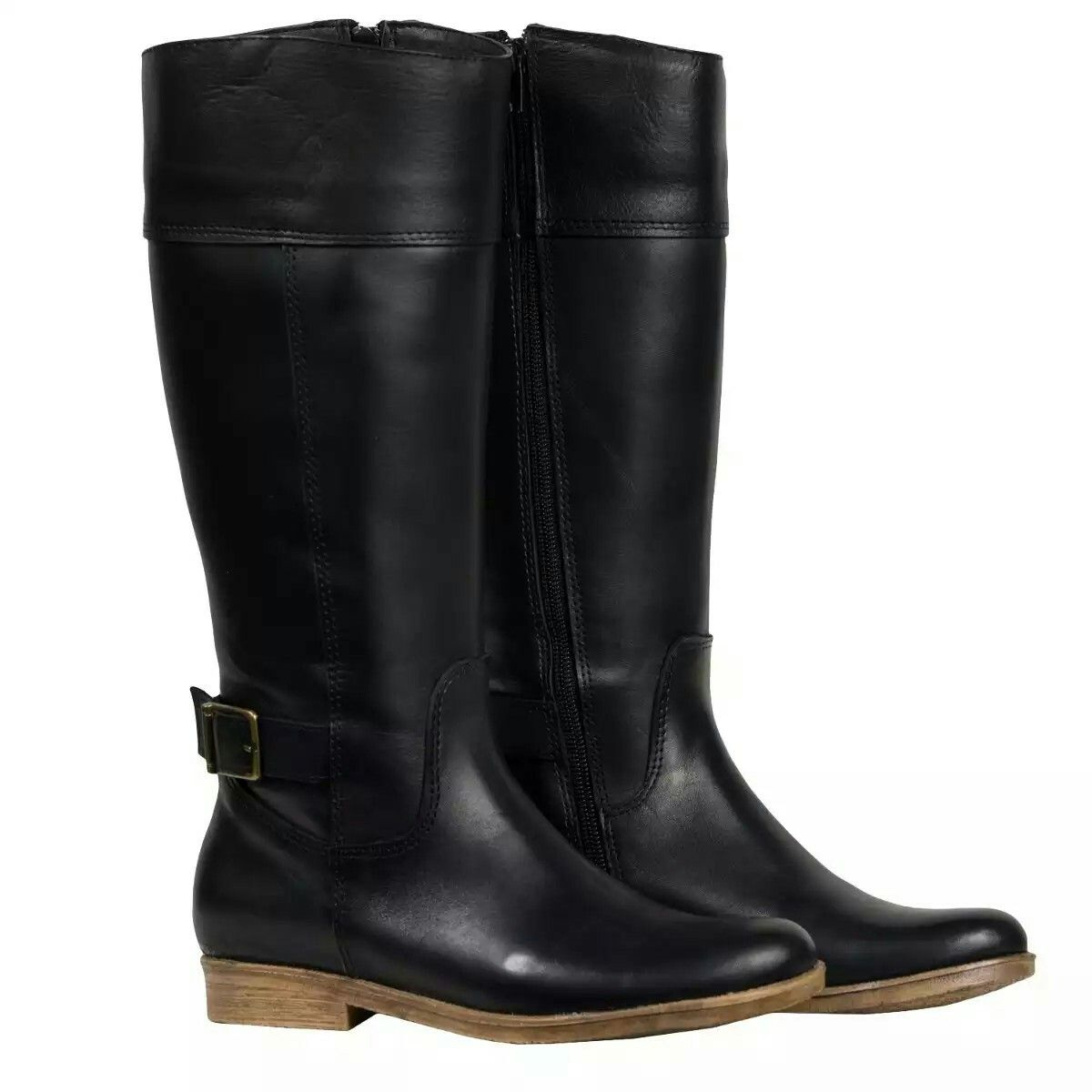 64ea25ea0 Botas Mujer Media Caña Zapatos Bota Montar Almacen De Cueros. Botas Largas