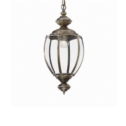 klassieke hanglamp lantaarn brons 50 25cm lampen pinterest