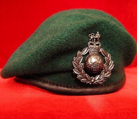 2ab9ac6f ELITE U.K. BRITISH ROYAL MARINES COMMANDO BERET * SIZE 57CM * BRAND NEW *