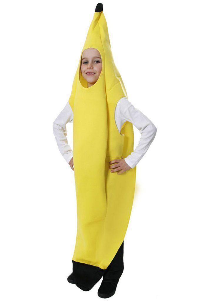 Childern S Yellow Banana Fancy Dress Costume Modo Creations
