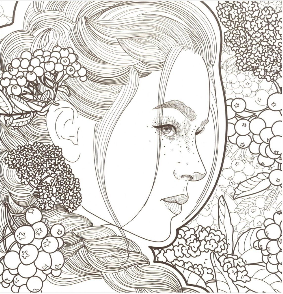 When I First Saw You Korean Coloring Book In 2021 Fairy Coloring Pages Coloring Books Coloring Pages