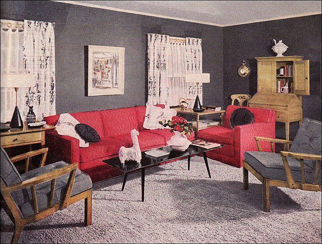 1950s Living Rooms Retro Living Rooms Retro Home Decor Mid Century Living Room