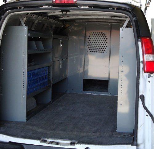 Van Safety Partition Bulkheaddivider With 10 Opening Gmc Savana