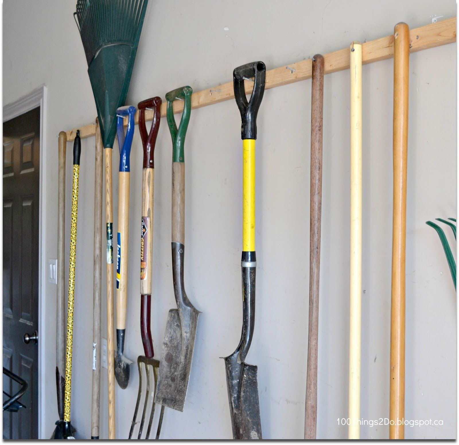 10 Ideas For Hanging Garden Tools Most