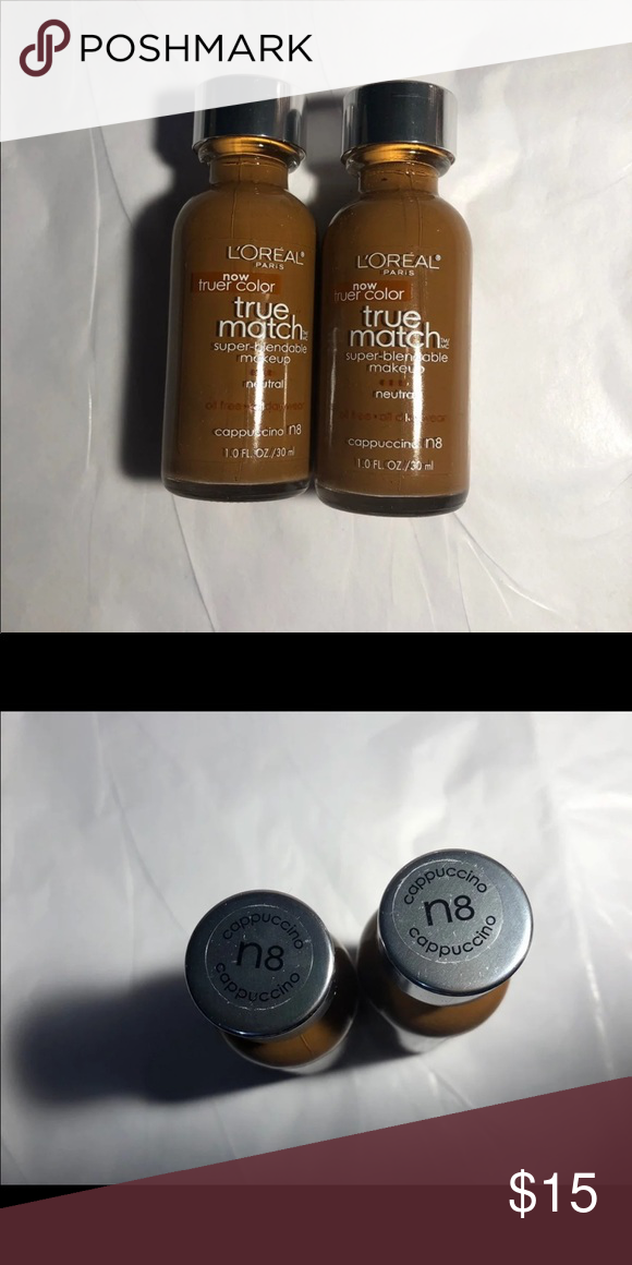 Loreal True Match Foundation N8 Cappuccino NWT in 2020