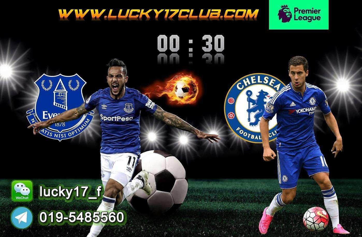 ENGLISH PREMIER LEAGUE (EPL) Everton VS Chelsea