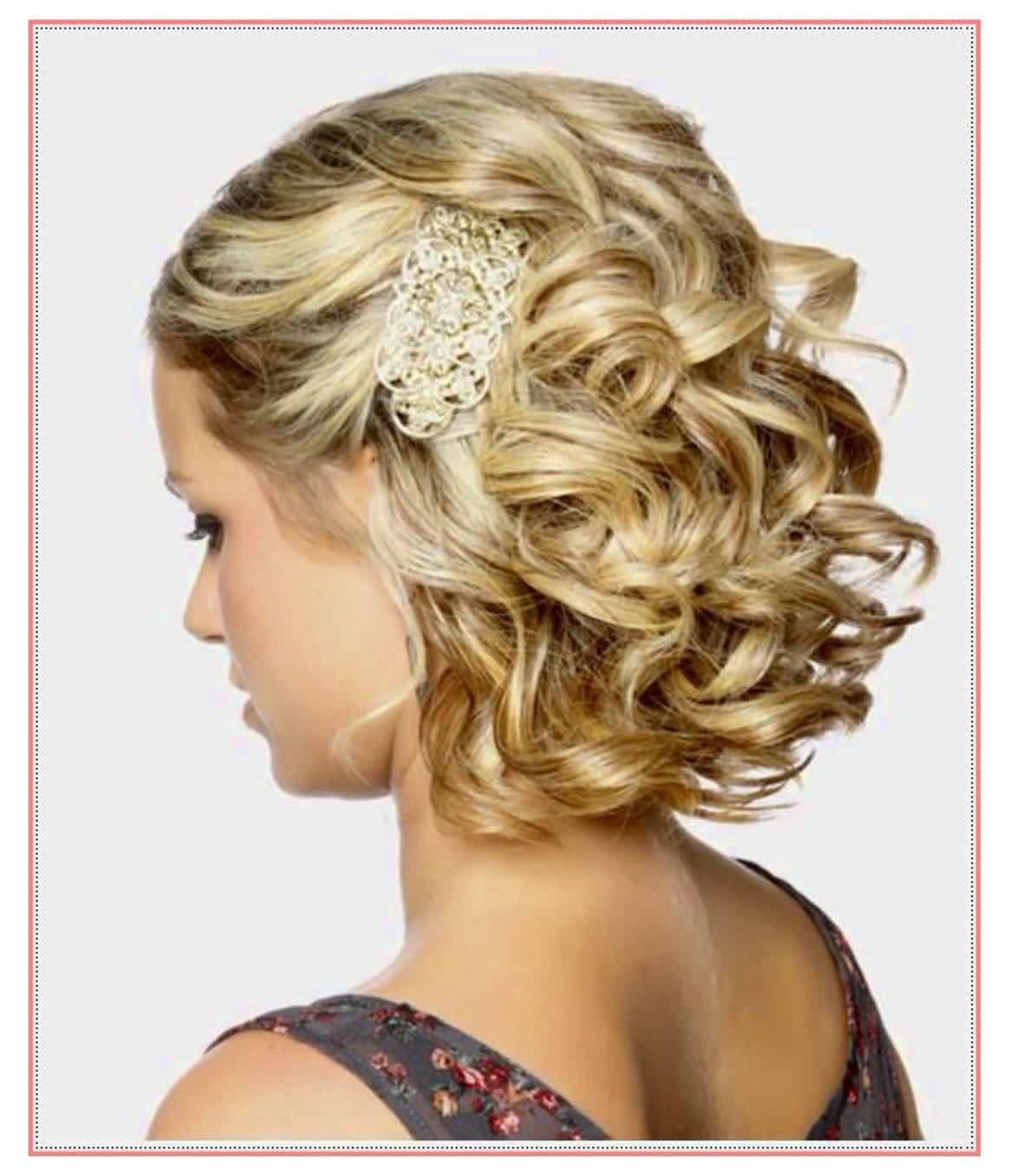 Hairstyle For Short Hair For Js Prom Hairstyle