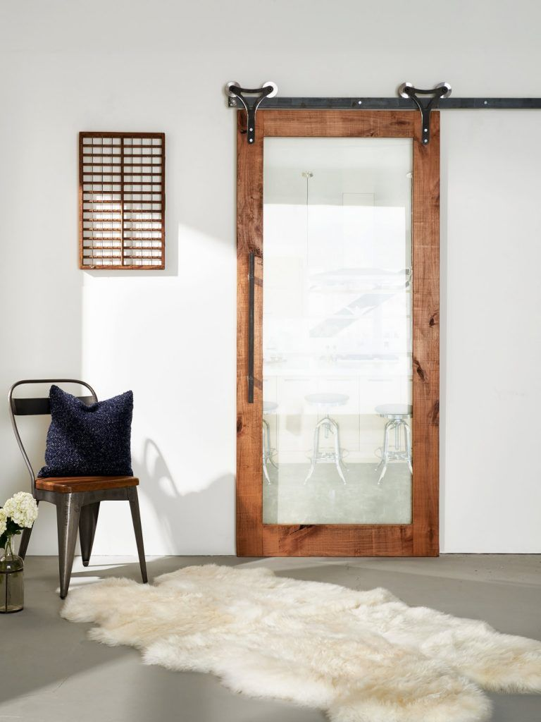 Single Panel Sliding Patio Door Gl Barn Doors