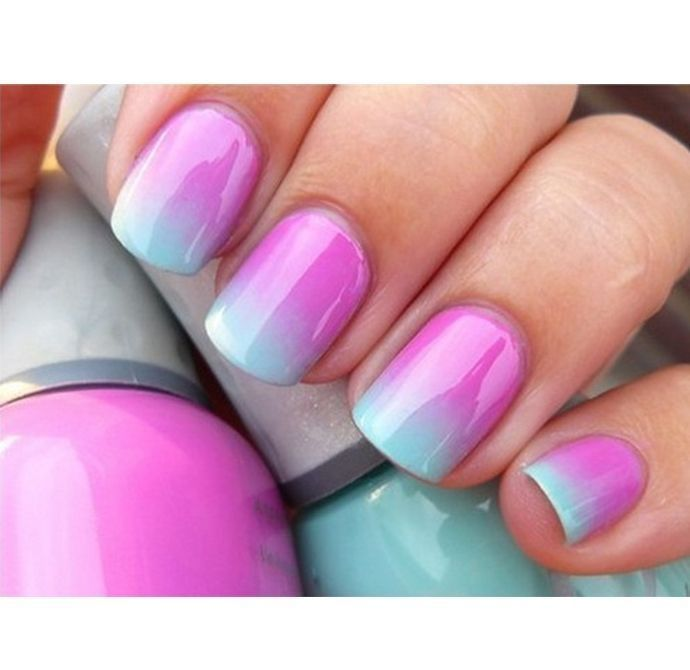 Nail Art Alert! How To Get Ombre Nails At Home
