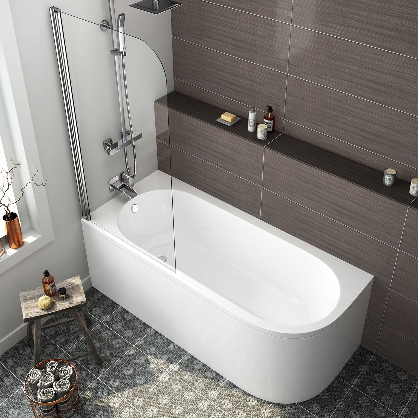 Small Back To Wall Bath Part - 23: Pinterest