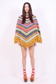I have a few ponchos already but none like this one!