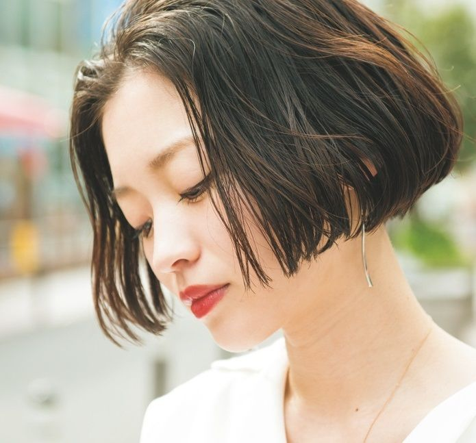 Hairstyle おしゃれまとめの人気アイデア Pinterest Otama ヘアカット ワンレン ショート ボブ 髪型 ボブ